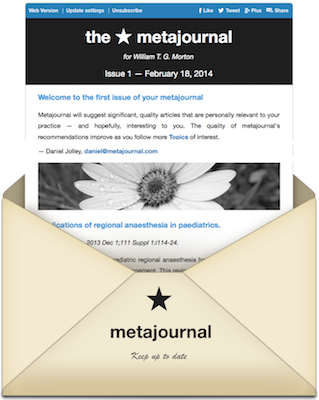 Metajournal envelope